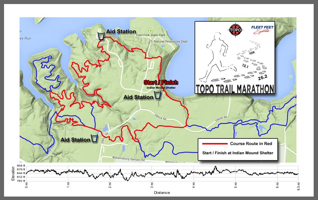 Topo Adventure Sports - Topo trail maps